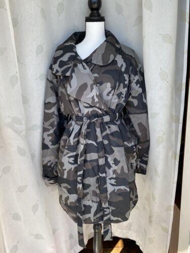 Norma kamali sleeping bag coat sz small