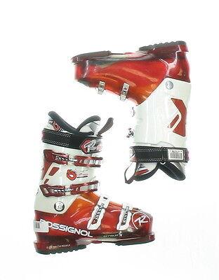 Used Rossignol Synergy Sensor2 White & Red Ski Boots Men's