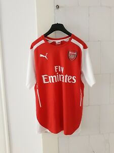 uk availability b512f 01752 Details about Arsenal Puma home shirt M medium alexis sanchez #17