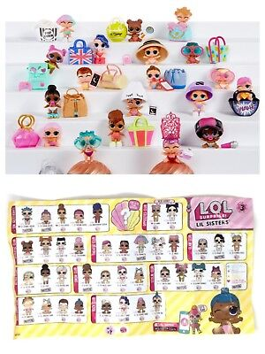 LOL Surprise Doll Figure Toy LIL WAVES Series 3-062 Lil Sisters New Color Change