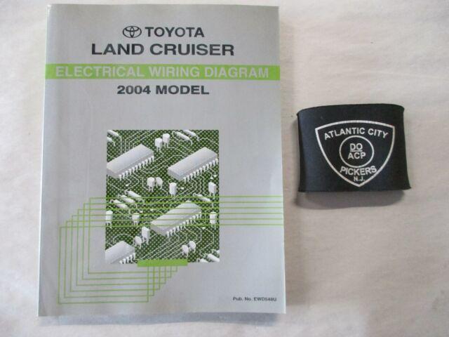 2004 Toyota Land Cruiser Electrical Wiring Diagram Service