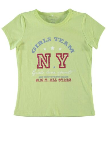 Name It T-shirt nitvaiken vert clair enfants fille été printemps Locker Cool