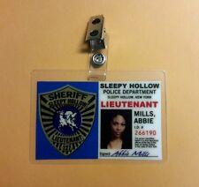 Sleepy Hollow Id Badge - Lieutenant Abbie Mills costume prop cosplay