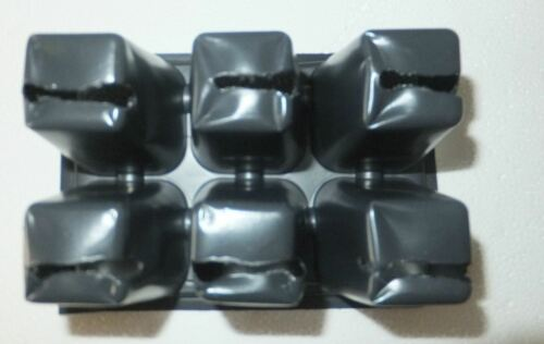 fills 25 flats seed starting New Seedling Black Tray Inserts 25 Sheets 1206
