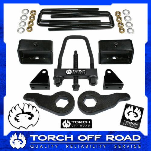 "3/"" Front 3/"" Rear Lift Kit 01-10 Chevy GMC Sierra Silverado 2500 2500HD SE Tool"