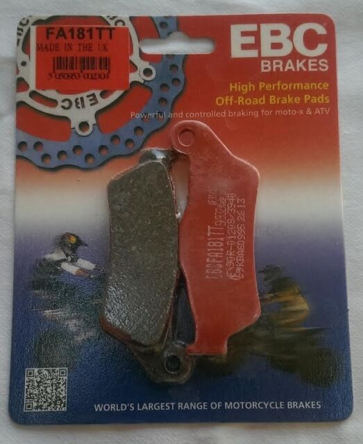 "KTM SX 620 (1994 to 1999) EBC ""TT"" FRONT Brake Pads (FA181TT) (1 Set)"