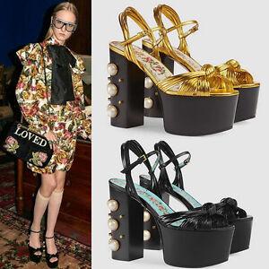 S48 woman shoes high heel toe vintage