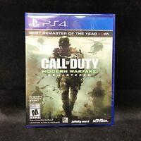 Call Of Duty 4: Modern Warfare Remastered (ps4) Latin America Version /