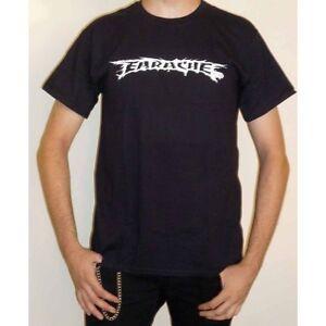 Logo Grey T-shirt Herrenmode Carcass