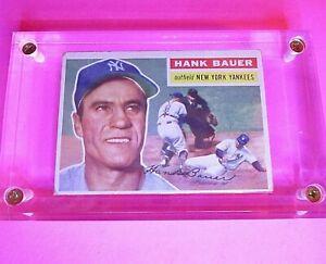 1956-Topps-Hank-Bauer-177-New-York-Yankees