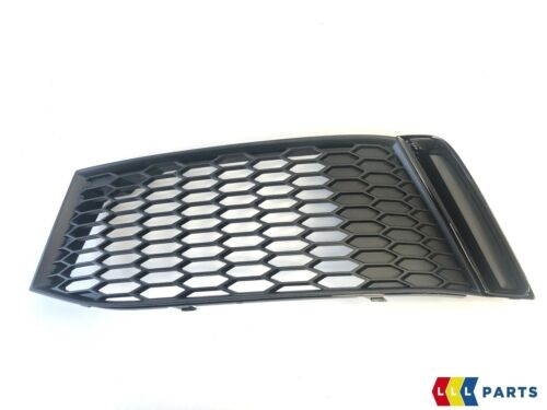 NEW GENUINE AUDI S1 15-17 FRONT LEFT RIGHT AIR GUIDE GRILL GLOSS BLACK SET