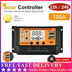 100A-Solar-Panel-Battery-Regulator-Charge-Controller-12-24V-Auto-Dual-USB-DE