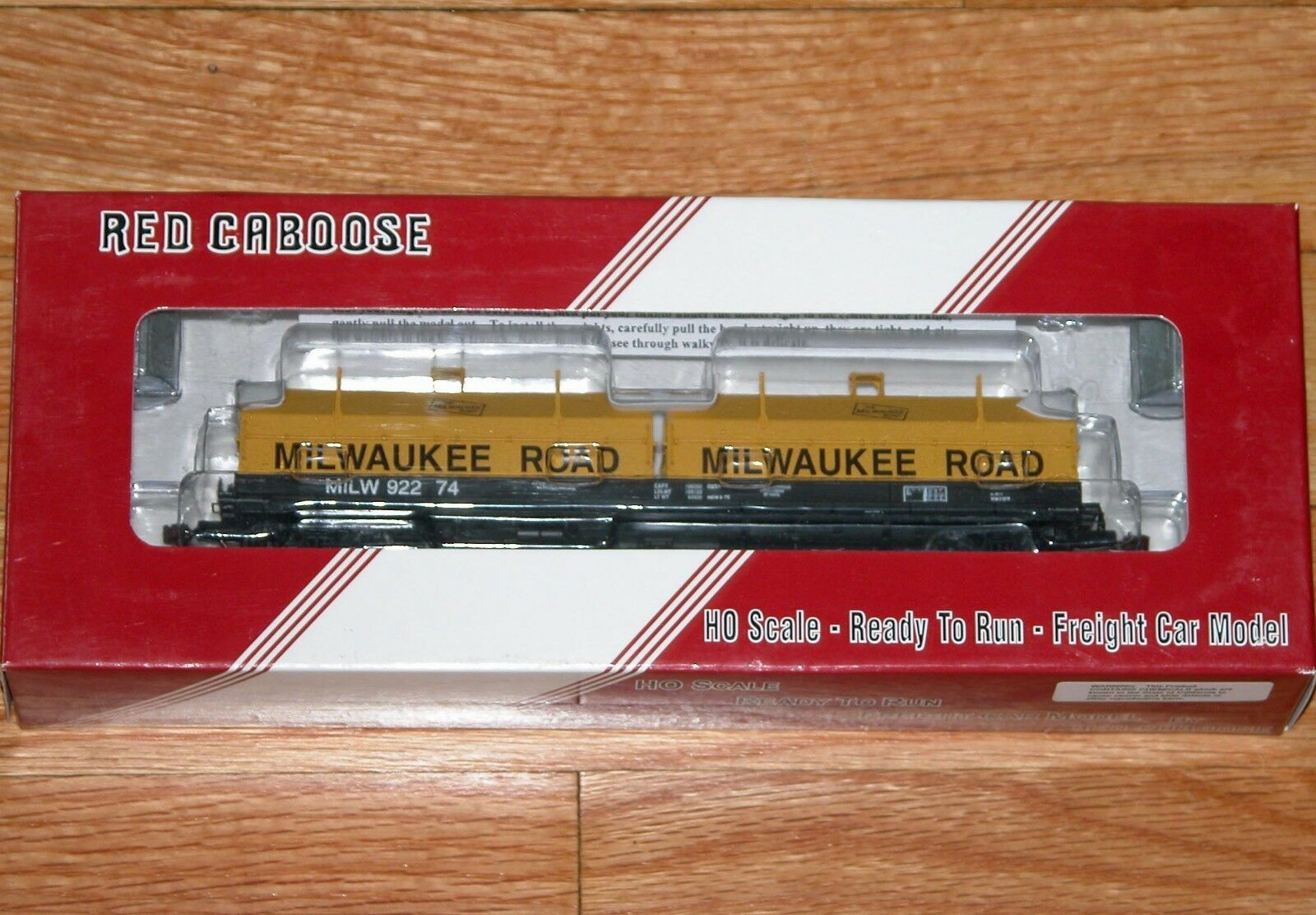 RED CABOOSE RR-32527-12 100 TON EVANS COIL CAR MILWAUKEE ROAD MILW 92274