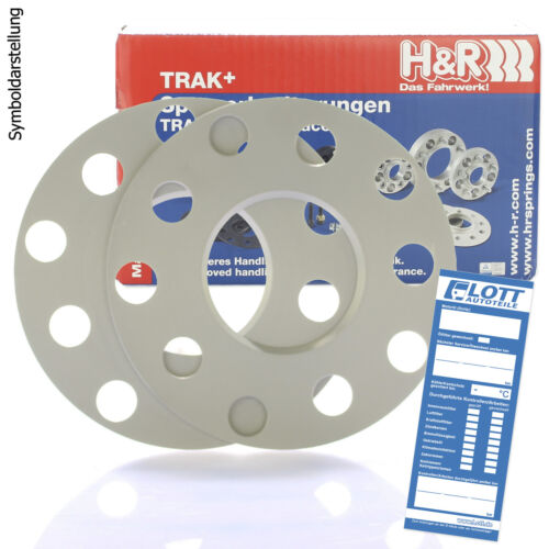 H/&R DR Spurplatten Spurverbreiterung Distanzscheibe MZ Ø57,1 5x100 6mm //// 2x3mm