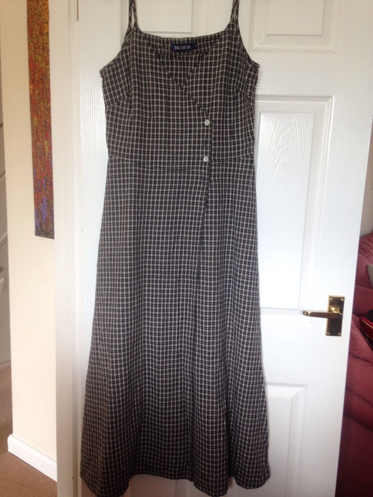 French Connection Maxi Dress, Size Large