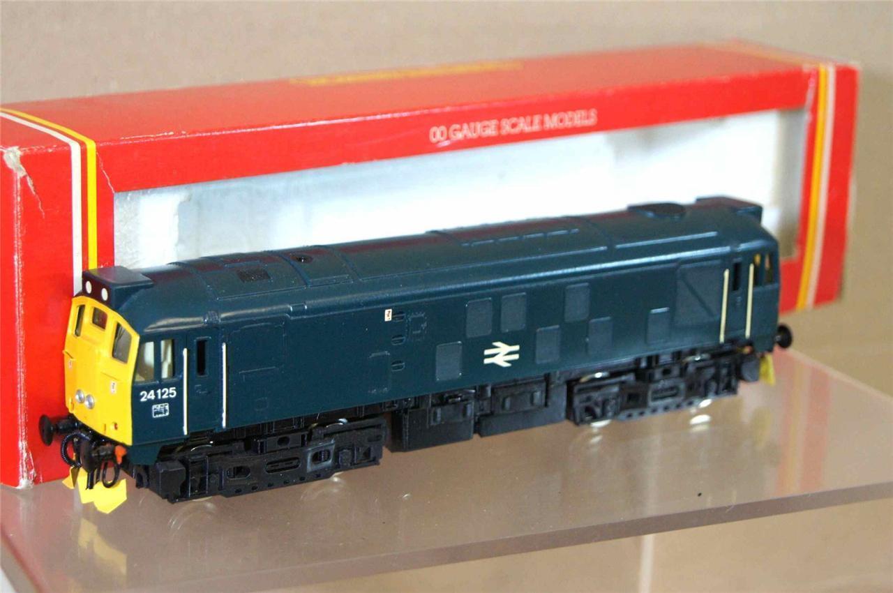 Hornby R877 Set Gebaut Br Blau Klasse 24 Bo-Bo Diesel Lokomotive 24125