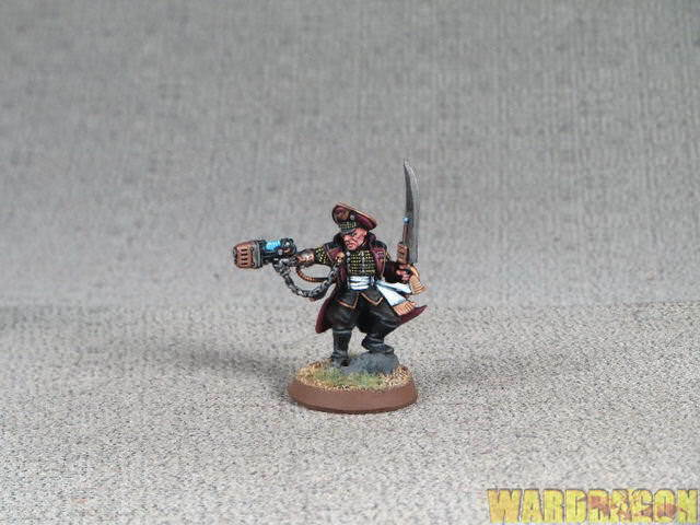 25mm Warhammer 40K WDS painted Astra Militarum Officio Prefectus Commissar p68