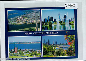 C7662cgt-Australia-WA-Perth-Multiview-postcard