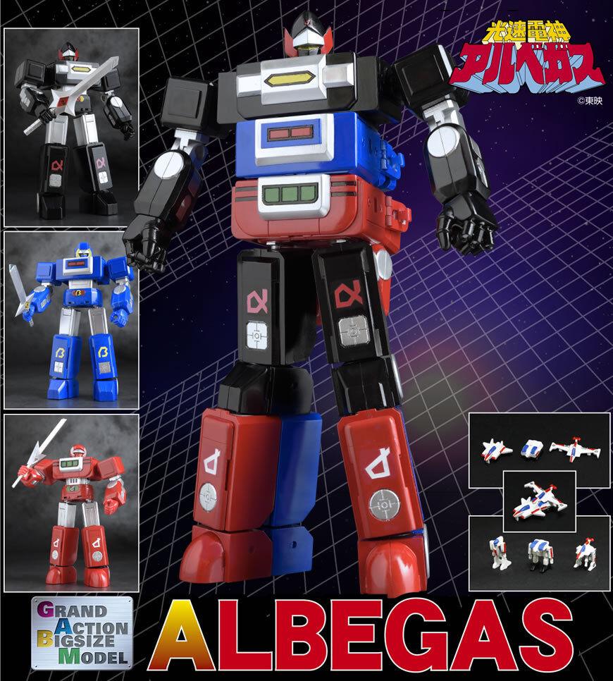 Modelo futuro Quest Grand acción BigTalla Albegas Chara-ani evolución de juguete