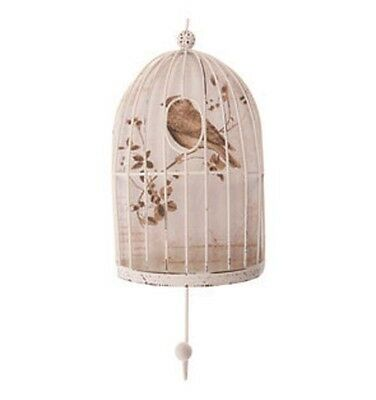 Vintage / Shabby Chic Bird Cage Wall / Coat Hook by Sass and Belle  * Bedroom *