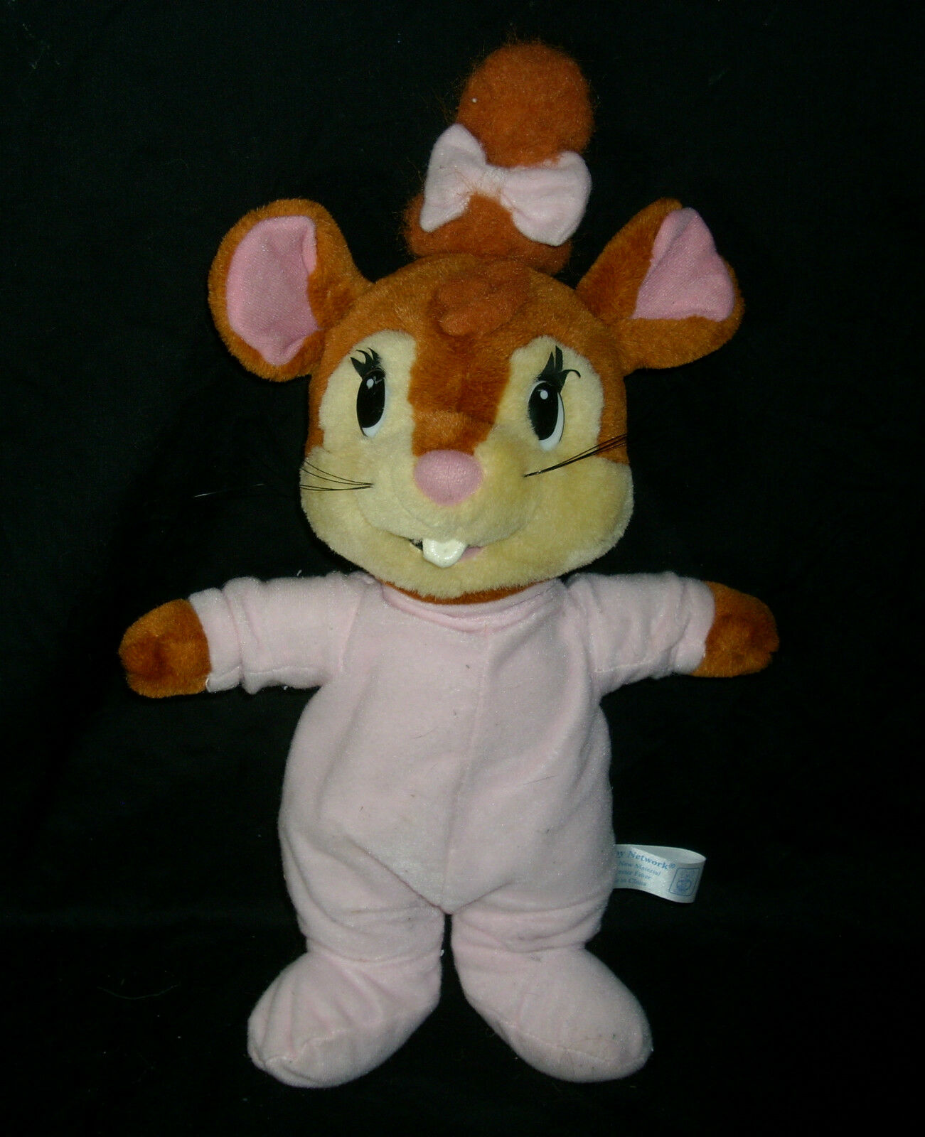 38.1cm Fievel & Yasha Universal Studios Sorella Mouse Bambola Peluche Peluche