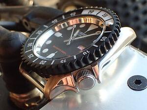 the black shark one mod custom bezel for seiko skx007 7s26 020