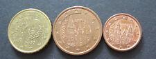 1, 5 + 10 Cent Euro Münze Spanien Prägejahr 2003 aus Umlauf Sammlerstück!