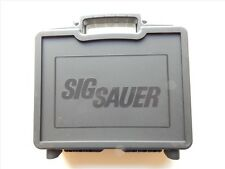 Sig Sauer Black Plastic Factory Pistol Case, NEW