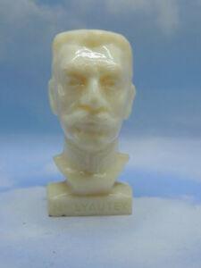 Candide Mal.lyautey Publicitaire Total 70's Figurine Buste Les Gloire De La République Limpide à Vue