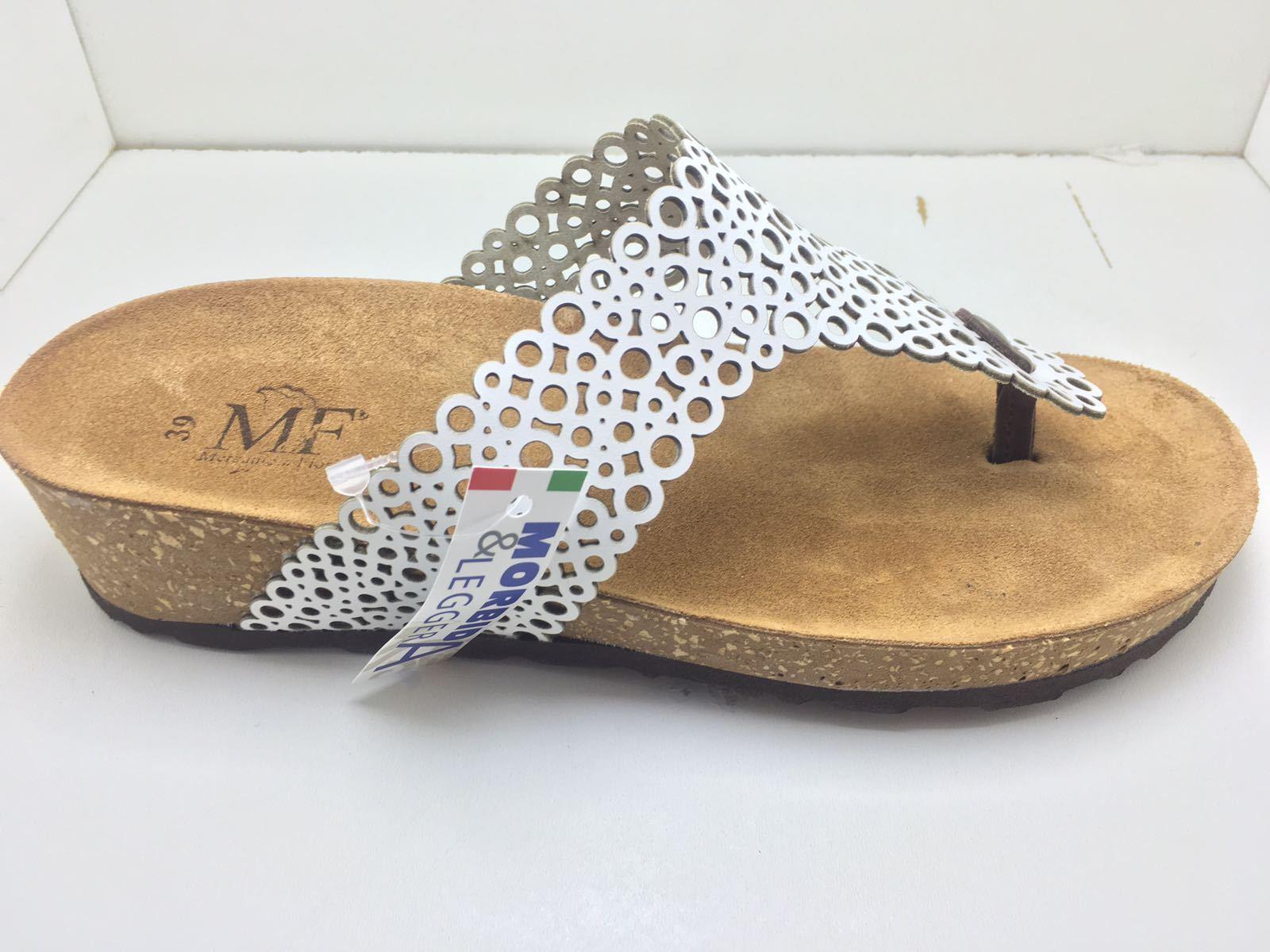 Schuhe Mercante di Fiori Infradito Donne Bianco