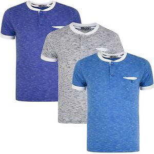 43bfca489 Boys Henley Shirt White Colour Combi Placket Top Kids Pocket Marl T ...