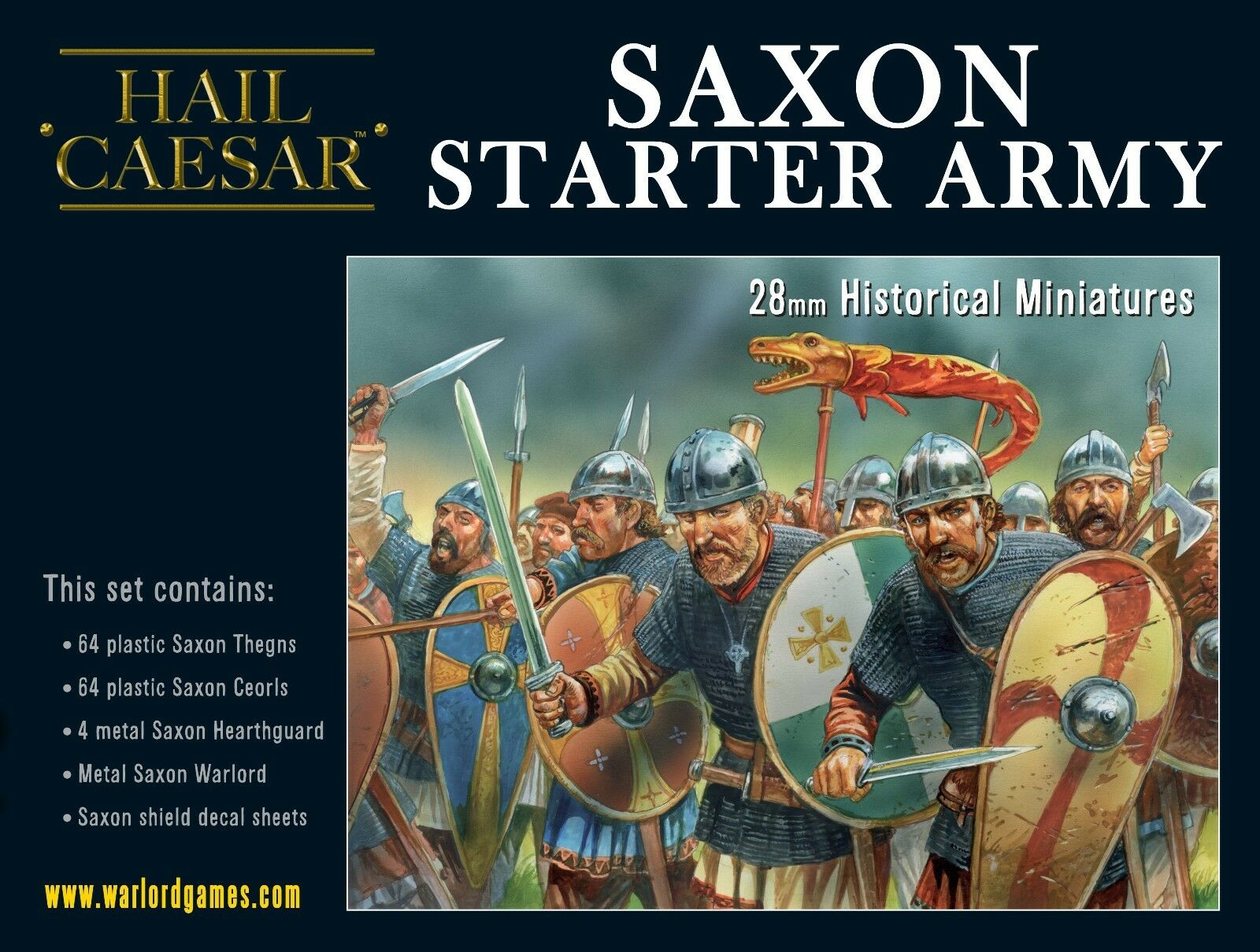 Hail Caesar Saxon Starter Army box Warlord Games