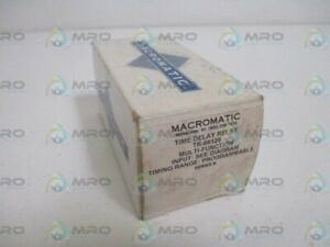 Details about MACROMATIC TR-68129 TIME DELAY RELAY * NEW IN BOX * on macromatic alternating relay, abb alternating relay, delay timer relay, macromatic phase monitor relay,