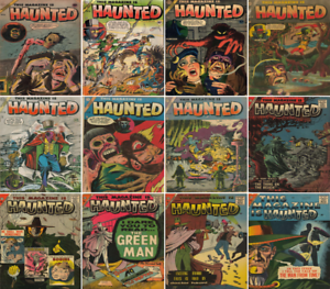 1953-1958 This Magazine Is Haunted Comic Book Package 12 eBooks on CD