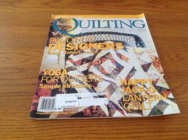 McCall's Quilting Magazine October 2003