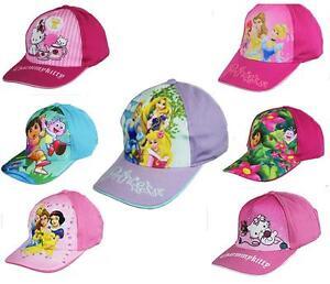 Girls-Character-Caps-Sun-Hats-Disney-Hello-Kitty-Dora-Disney-Princess-Tangled