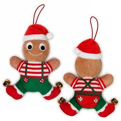 "kidrobot YUMMY WORLD 4"" Jimmy GINGERBREAD Deluxe ORNAMENT HOLIDAY PLUSH LTD Ed"
