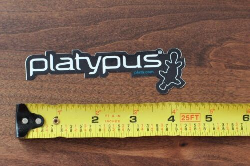 PLATYPUS Hydration STICKER Decal NEW