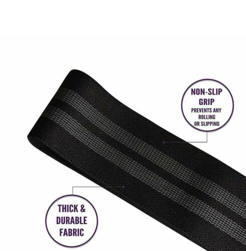 Glute Shaping Exercise Band Resistance Band Black Hip Circle Strength Band