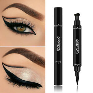 2-In-1-fluessiger-Eyeliner-Stempel-lang-anhaltende-Eye-Liner-Pencil-Make-up-DE