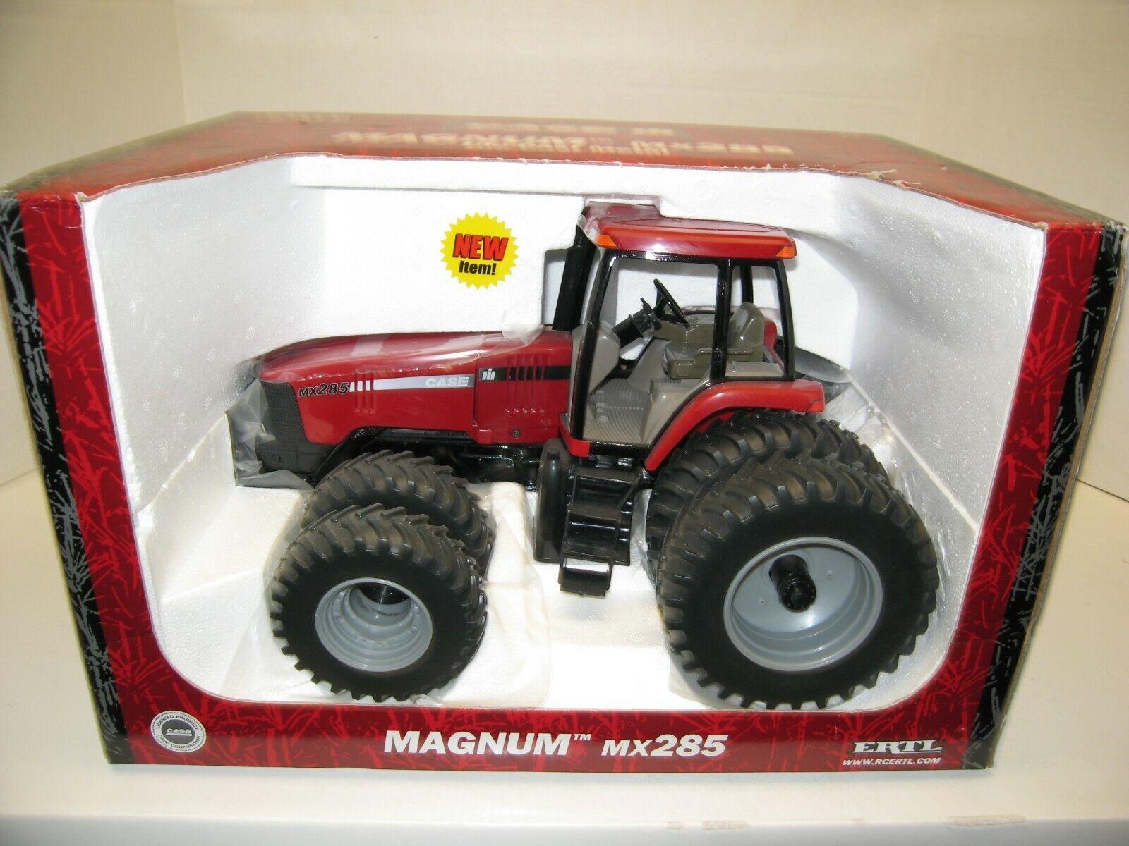 1 16 CASE I-H MX285 MAGNUM MFWD w DUALS NIB free shipping