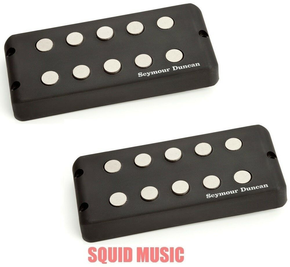 Seymour Duncan SMB-5D 5 String Music Man Ceramic Magnet Set Bass Replacement