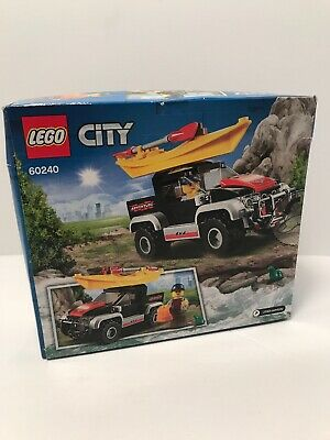 Toy Truck and Acessories,... LEGO 60240 City Great Vehicles Kayak Adventure Set