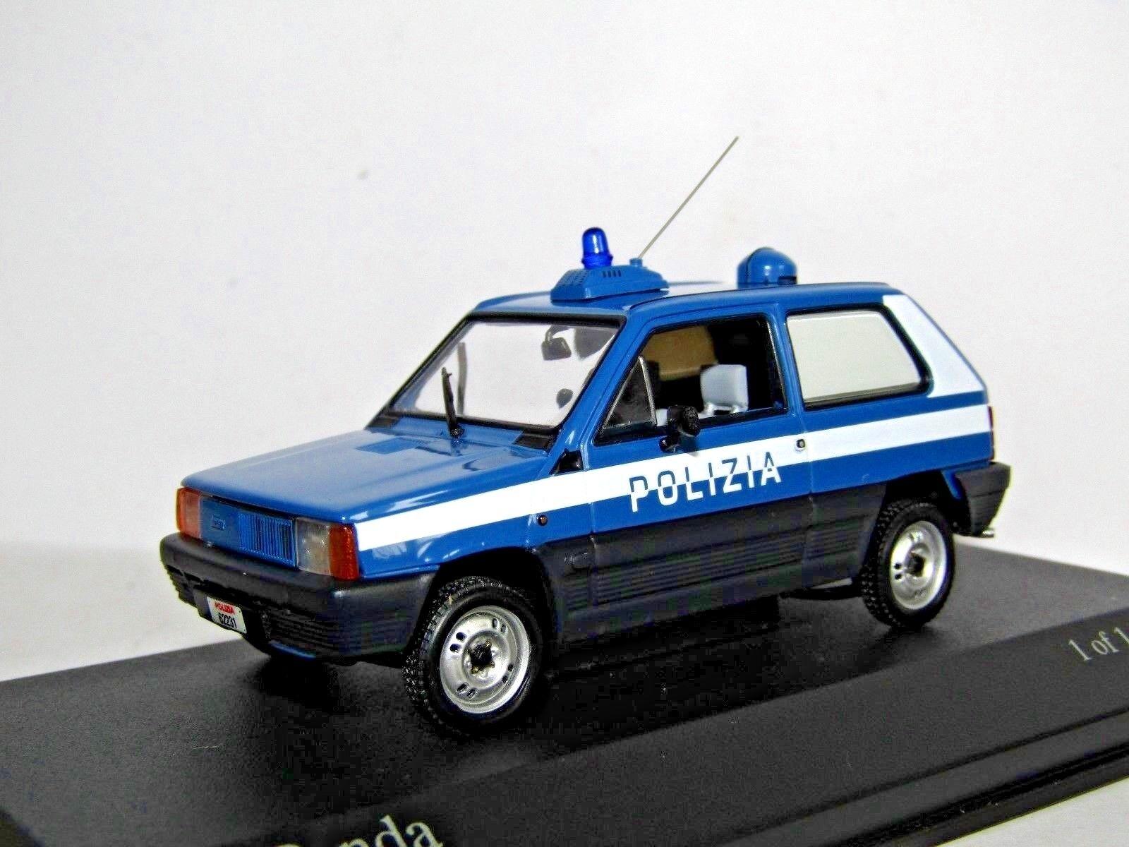 MINICHAMPS FIAT PANDA 1980 POLIZIA 1 43
