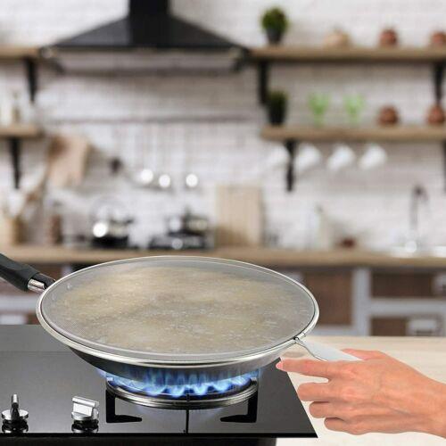 Ram-Pro Grease Splatter Screen for Frying Pan 10 inch Hot Oil Splash Splatter Gu