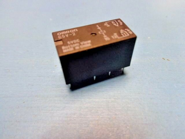 (1) OMRON G5V-2-DC5 General Purpose Relay DPDT 5V Through Hole Non Latching