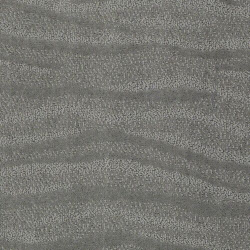 Surf/'s Up Titanium Textured Pattern Indoor Stain Resistant Area Rug Carpet