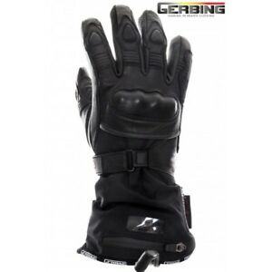 GERBING-XR-12-HEATED-LEATHER-MOTORCYCLE-GLOVES-LIFETIME-WARRANTY-ON-MICROWIRE