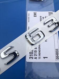 Original Mercedes S63 S 63 AMG W222 W221 W223 Logo Badge S63 4MATIC A2228172015