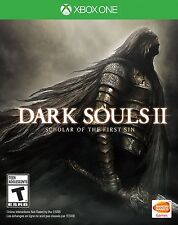 NEW Dark Souls II 2 Scholar of the First Sin (Microsoft Xbox One, 2015)